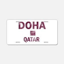 Doha Qatar Designs Aluminum License Plate