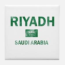 Riyadh Saudi Arabia Designs Tile Coaster