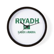 Riyadh Saudi Arabia Designs Wall Clock