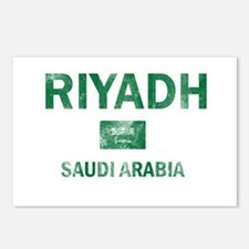 Riyadh Saudi Arabia Designs Postcards (Package of