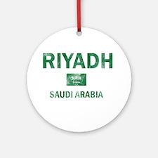 Riyadh Saudi Arabia Designs Ornament (Round)