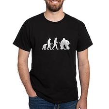 Hockey Goalie Evolution T-Shirt