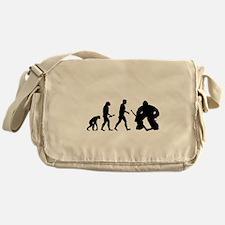 Hockey Goalie Evolution Messenger Bag