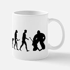 Hockey Goalie Evolution Small Small Mug