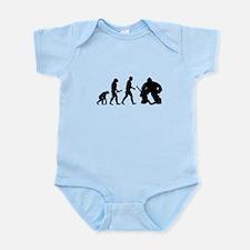 Hockey Goalie Evolution Infant Bodysuit