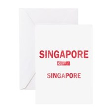 Singapore Singapore Designs Greeting Card