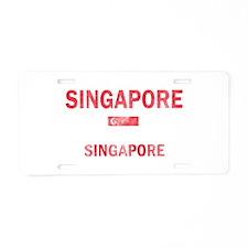 Singapore Singapore Designs Aluminum License Plate