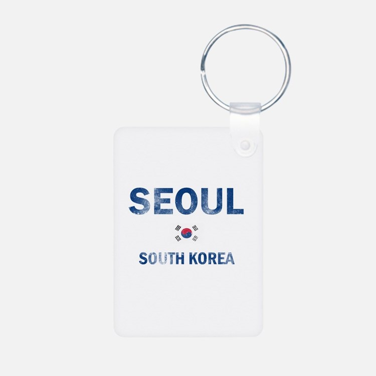 Seoul South Korea Designs Keychains