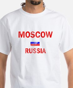 Moscow Russia Designs Shirt