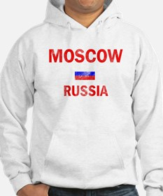 Moscow Russia Designs Hoodie