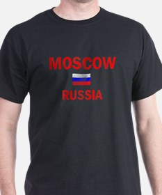 Moscow Russia Designs T-Shirt