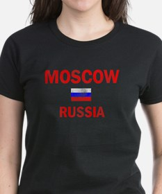 Moscow Russia Designs Tee