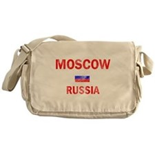 Moscow Russia Designs Messenger Bag