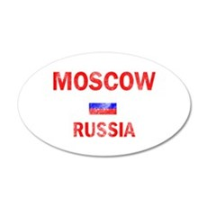Moscow Russia Designs Wall Decal