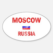 Moscow Russia Designs Decal