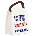Minnesota Baseball Canvas Lunch Bag