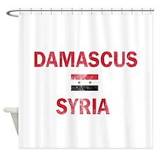 Damascus Syria Designs Shower Curtain