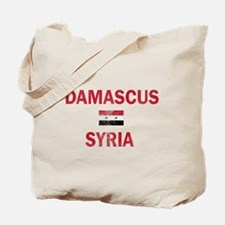 Damascus Syria Designs Tote Bag