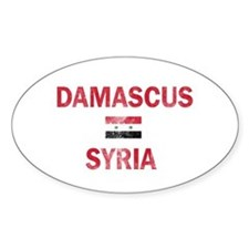 Damascus Syria Designs Bumper Stickers