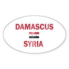 Damascus Syria Designs Stickers