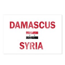 Damascus Syria Designs Postcards (Package of 8)