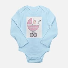DaisyBoo New Baby Girl Long Sleeve Infant Bod