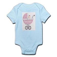 DaisyBoo New Baby Girl Infant Bodysuit