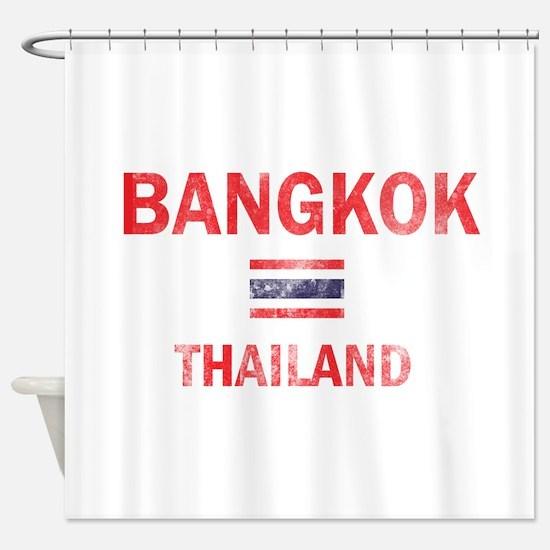 Bangkok Thailand Designs Shower Curtain