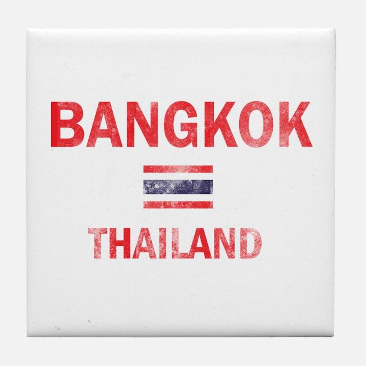 Bangkok Thailand Designs Tile Coaster