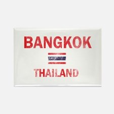 Bangkok Thailand Designs Rectangle Magnet