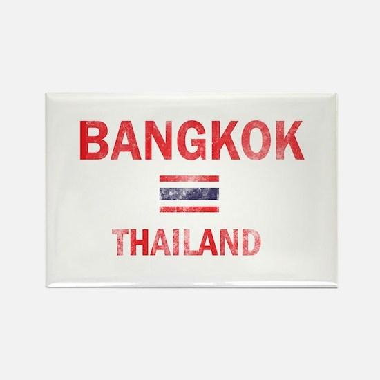 Bangkok Thailand Designs Rectangle Magnet