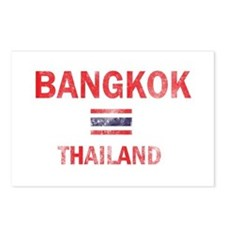 Bangkok Thailand Designs Postcards (Package of 8)