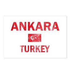 Ankara Turkey Designs Postcards (Package of 8)