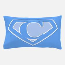 Super Blue Logo Pillow Case