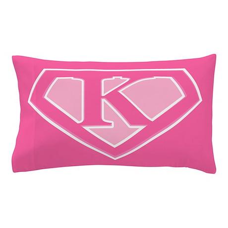 Super Pink Logo Pillow Case