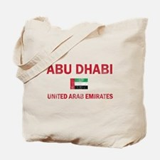 Abu Dhabi United Arab Emirates Designs Tote Bag