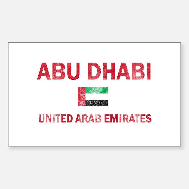 Abu Dhabi United Arab Emirates Designs Decal