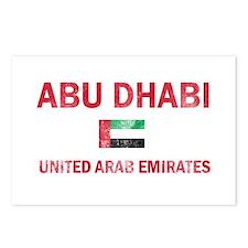Abu Dhabi United Arab Emirates Designs Postcards (