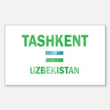 Tashkent Uzbekistan Designs Decal
