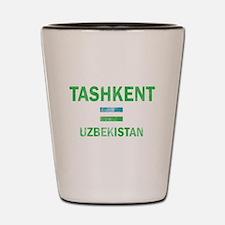 Tashkent Uzbekistan Designs Shot Glass