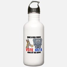Vote None of the Above Water Bottle