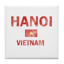 Hanoi Vietnam Designs Tile Coaster