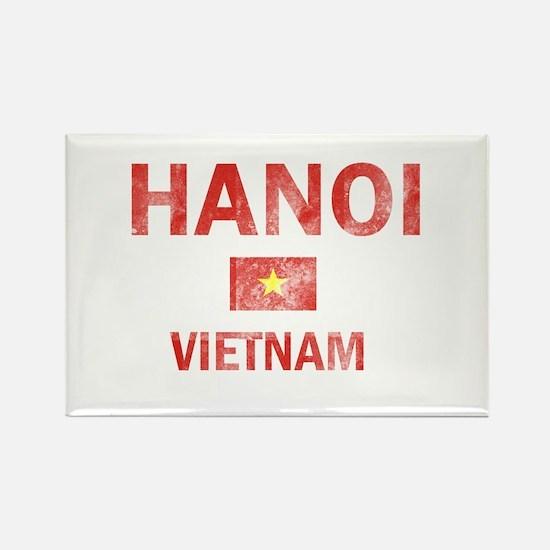 Hanoi Vietnam Designs Rectangle Magnet