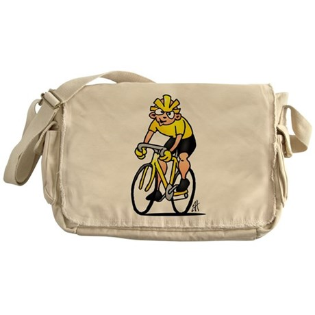 Cyclist Messenger Bag