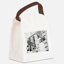 NY Broadway Times Square - Canvas Lunch Bag