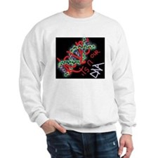 glowing dna love for kids Sweater