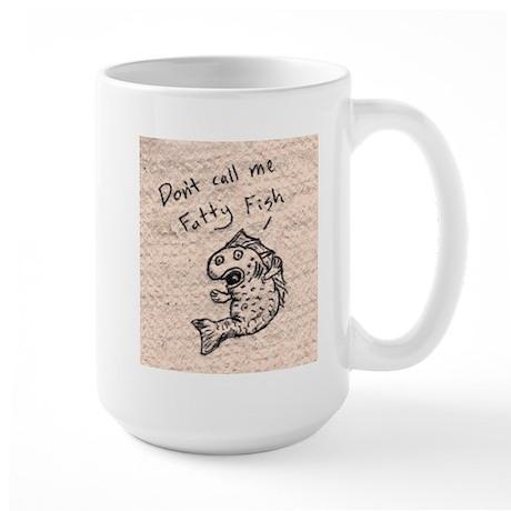 Fatty Fish Large Mug