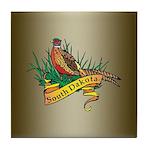 South Dakota Pheasant Tile Coaster