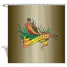 South Dakota Pheasant Shower Curtain