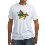 South Dakota Pheasant Fitted T-Shirt